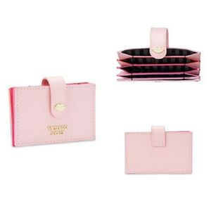 Victorias Secret Pink Accordion Card Case